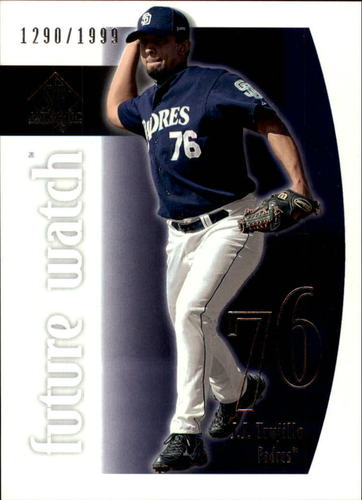 Photo of 2002 SP Authentic #219 J.J. Trujillo FW RC