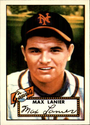 Photo of 1983 Topps 1952 Reprint #101 Max Lanier