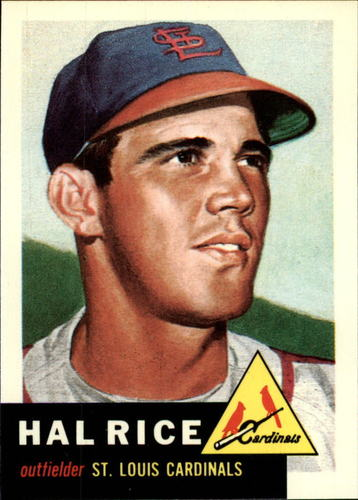 Photo of 1991 Topps Archives 1953 #93 Hal Rice