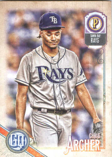 Photo of 2018 Topps Gypsy Queen #201 Chris Archer