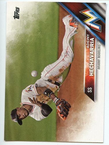 Photo of 2016 Topps #489A Adeiny Hechavarria