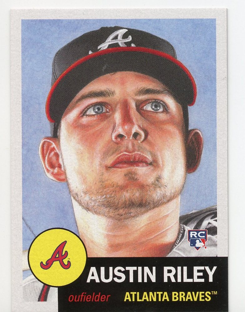 2019 Topps Living #206 Austin Riley Rookie Card