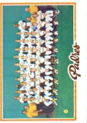 Photo of 1978 Topps #192 San Diego Padres CL