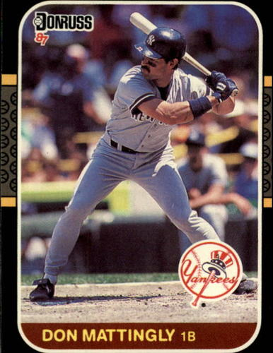 Photo of 1987 Donruss #52 Don Mattingly