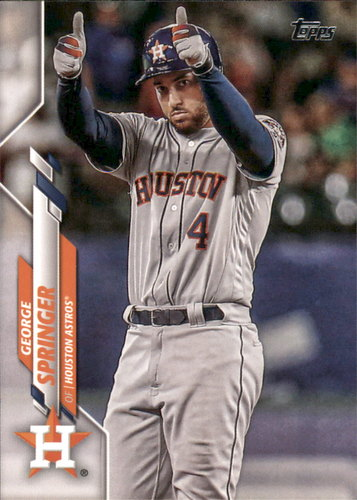 Photo of 2020 Topps #330 George Springer