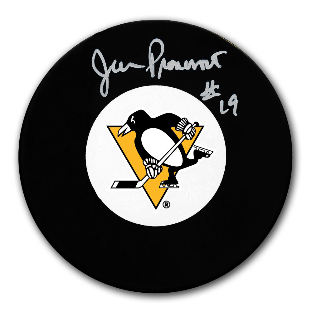 Jean Pronovost Pittsburgh Penguins Autographed Puck