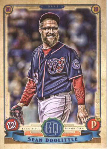 Photo of 2019 Topps Gypsy Queen #127 Sean Doolittle