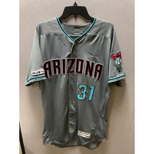 Photo of Alex Avila 2019 Team-Issued Road Alternate Jersey (Size 46)