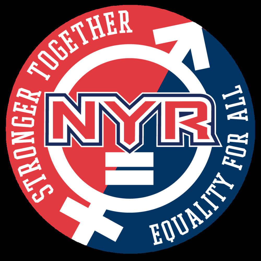 New York Rangers Equality Themed Commemorative Patch