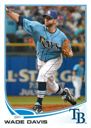 Photo of 2013 Topps #140 Wade Davis