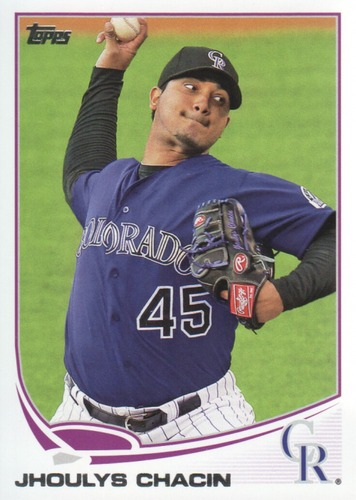 Photo of 2013 Topps #613 Jhoulys Chacin