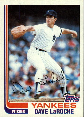 Photo of 1982 Topps #142 Dave LaRoche