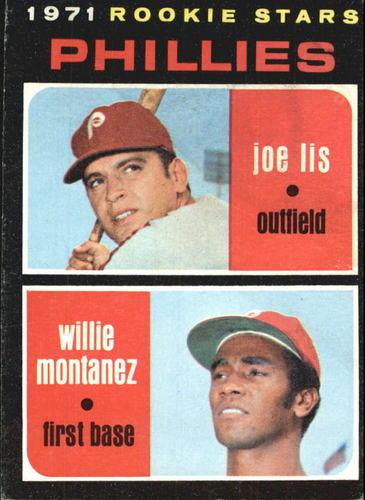 Photo of 1971 Topps #138 Rookie Stars/Joe Lis/Willie Montanez RC