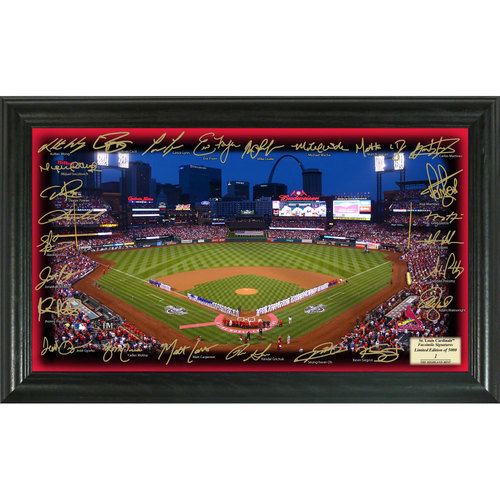 Serial #1! St. Louis Cardinals 2017 Signature Field