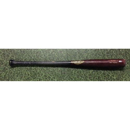 Eric Thames 2017 Game-Used Cracked Bat