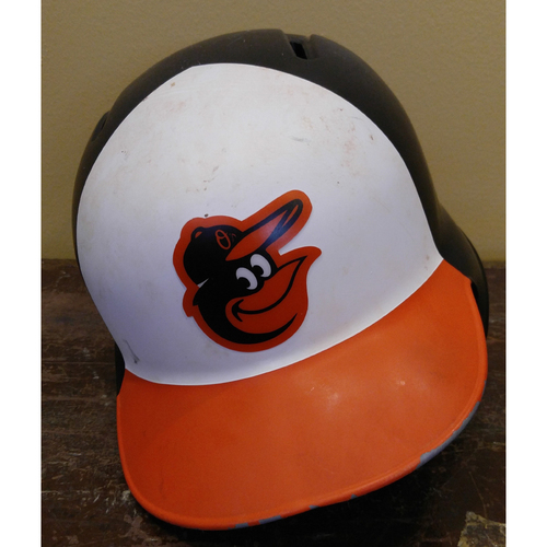 Tim Beckham - Batting Helmet: Team-Issued