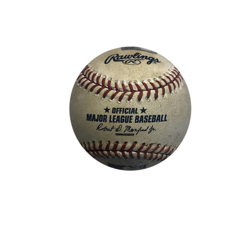 Photo of Game-used Baseball: 8/7/2016 Lorenzen vs. McCutchen, Single