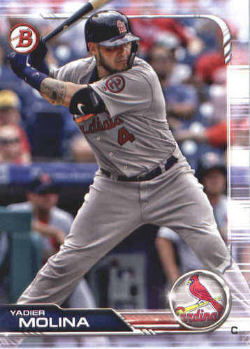 Photo of 2019 Bowman #36 Yadier Molina