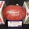 HOF - Steelers Mel Blount Signed Authentic Football