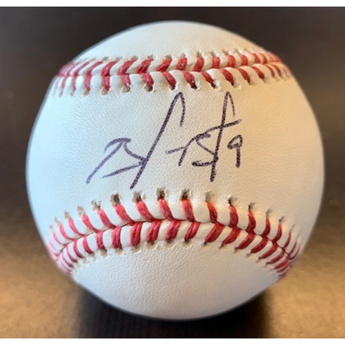 Photo of Giants Community Fund: Brandon Belt Autographed Baseball