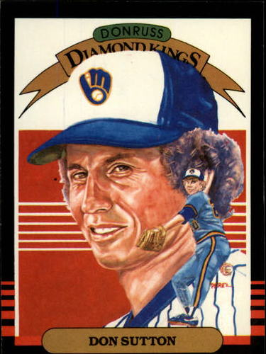 Photo of 1985 Leaf/Donruss #16 Don Sutton DK