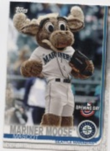 Photo of 2019 Topps Opening Day Mascots #M7 Mariner Moose