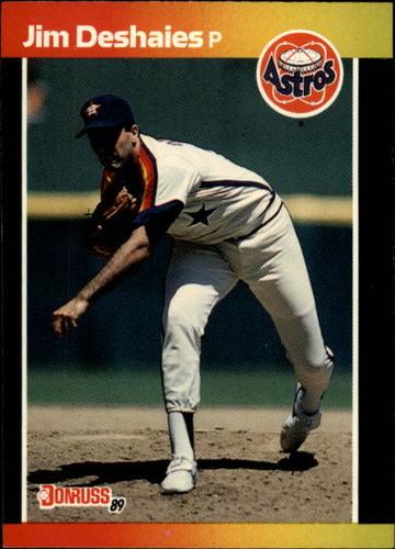 Photo of 1989 Donruss #241 Jim Deshaies
