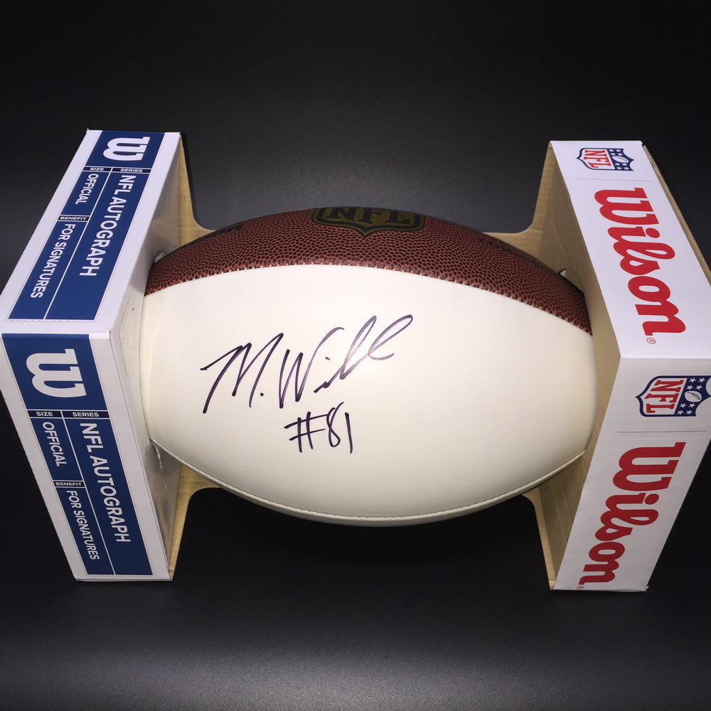 Chargers - Mike Williams Signed Panel Ball