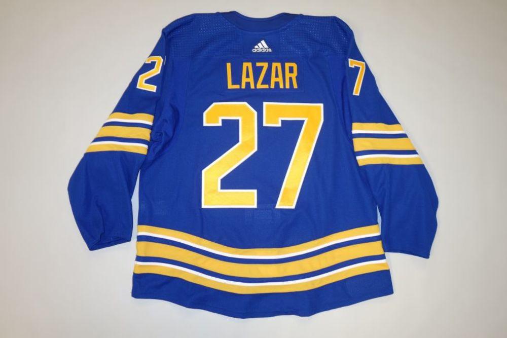 Curtis Lazar 2020-21 Buffalo Sabres Set 2 Home Jersey