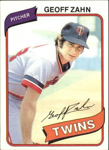 Photo of 1980 Topps #113 Geoff Zahn
