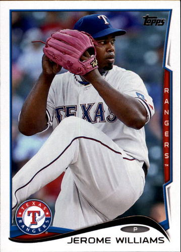 Photo of 2014 Topps Update #US236 Jerome Williams