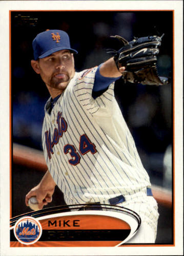 Photo of 2012 Topps #214 Mike Pelfrey