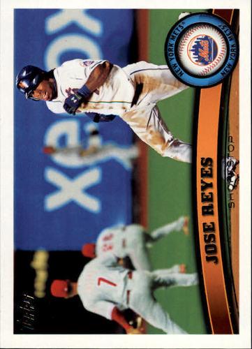 Photo of 2011 Topps #380 Jose Reyes