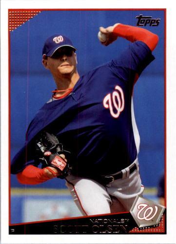 Photo of 2009 Topps #505 Scott Olsen