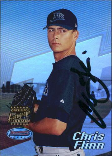 Photo of 2002 Bowman's Best #112 Chris Flinn AU A RC