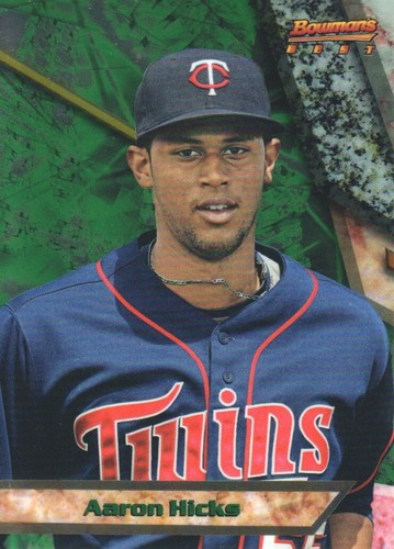 Photo of 2011 Bowman Bowman's Best Prospects #BBP61 Aaron Hicks