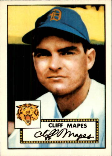 Photo of 1983 Topps 1952 Reprint #103 Cliff Mapes