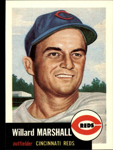 Photo of 1991 Topps Archives 1953 #95 Willard Marshall
