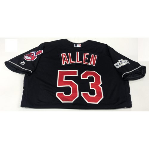 Photo of Greg Allen Team-Issued 2017 Post Season Jersey