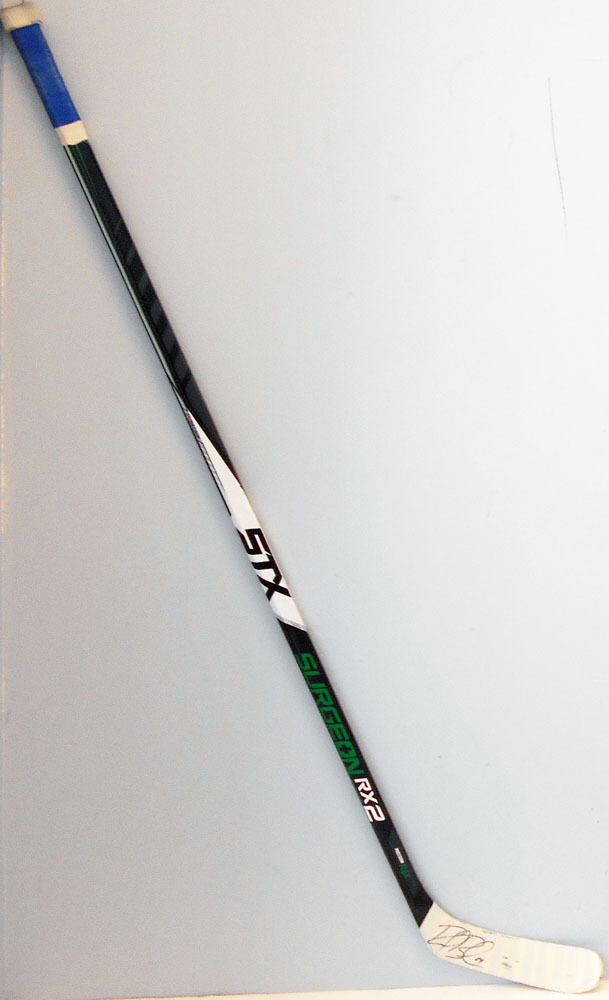 #24 Reid Boucher  Game Used Stick - Autographed - Vancouver Canucks
