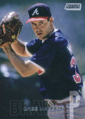 Photo of 2018 Stadium Club #208 Greg Maddux