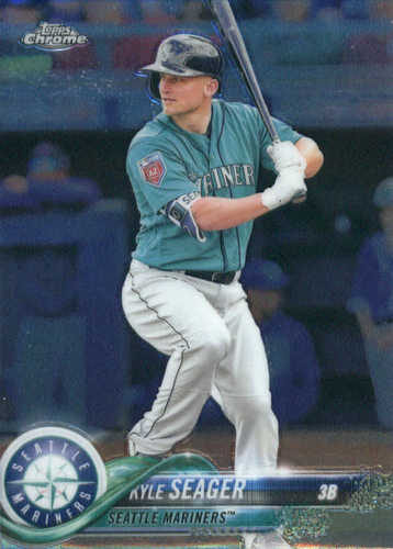 Photo of 2018 Topps Chrome #159 Kyle Seager