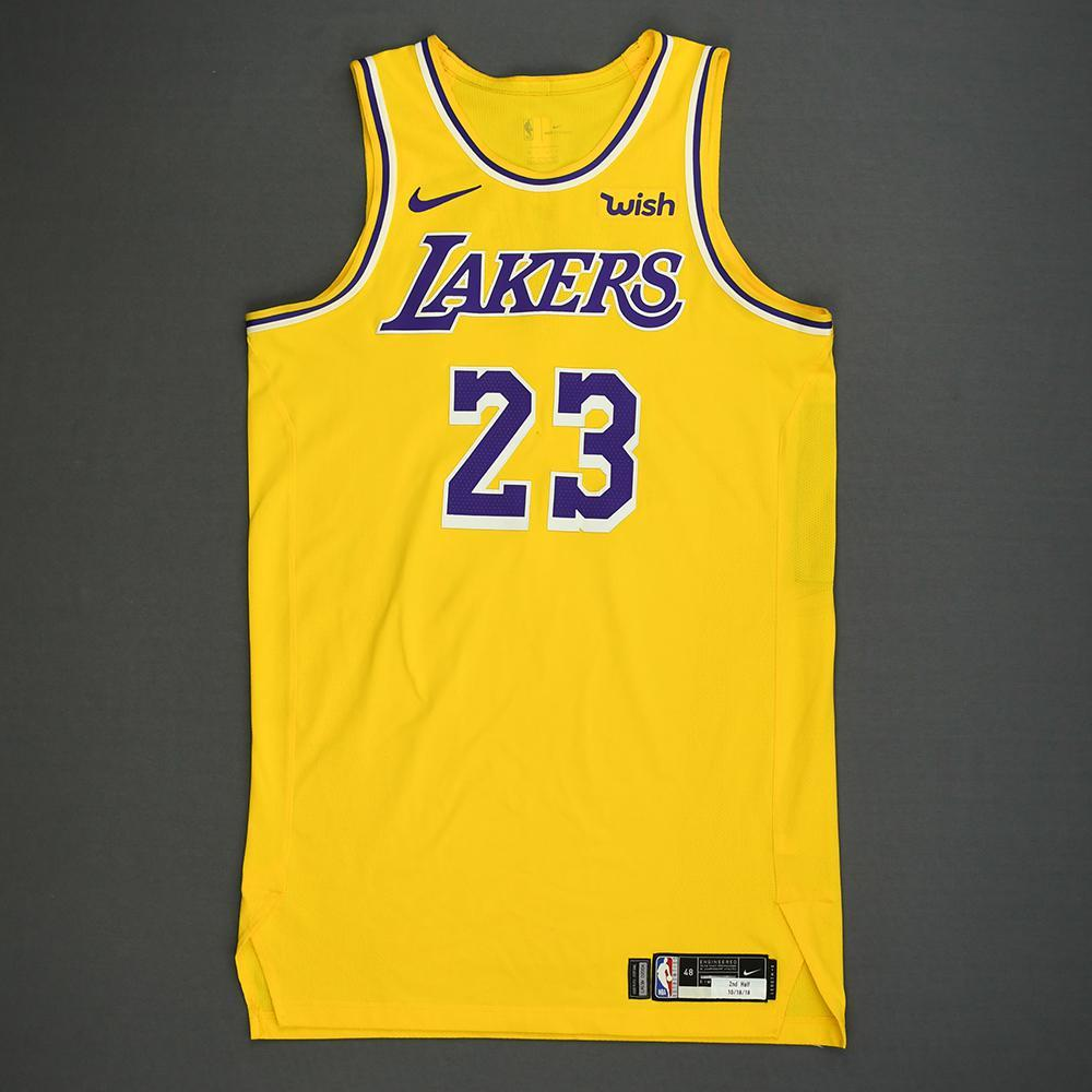 buy online be104 9b3bf LeBron James - Los Angeles Lakers - Kia NBA Tip-Off 2018 ...