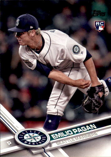 Photo of 2017 Topps Update #US181 Emilio Pagan RC