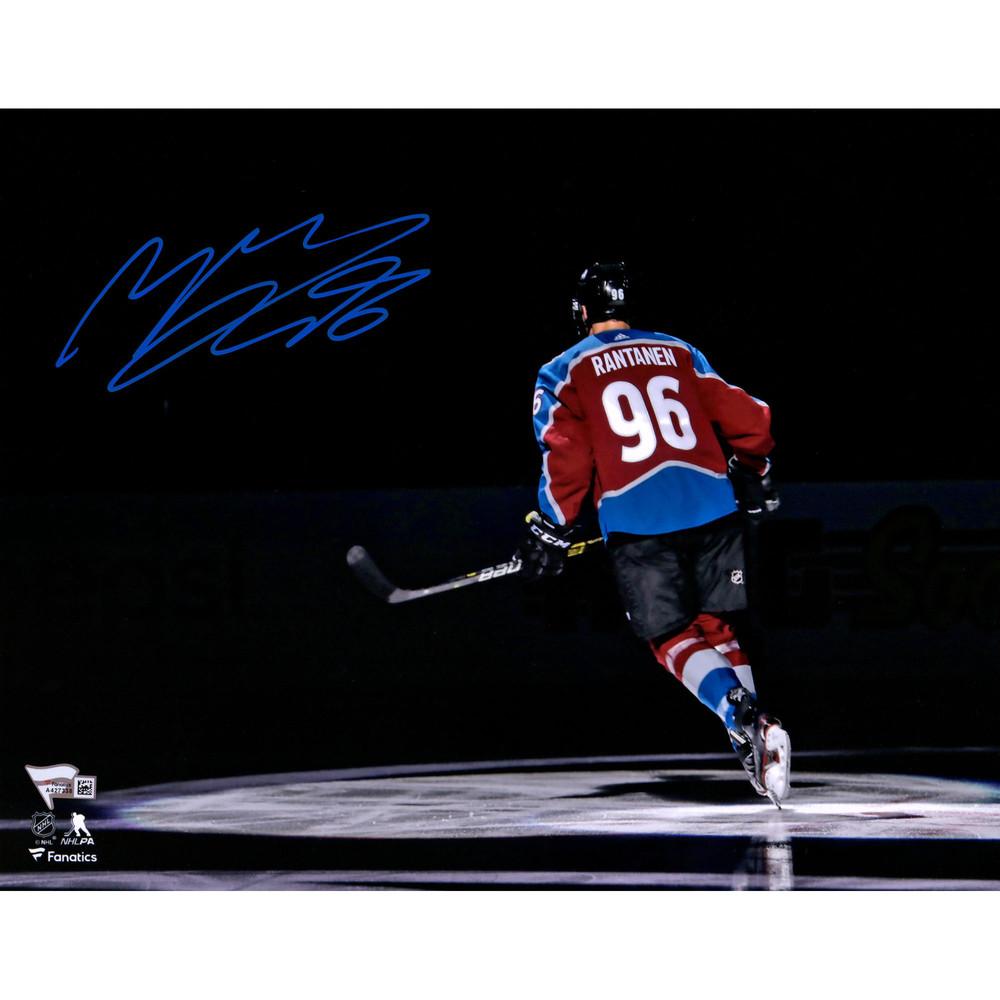 Mikko Rantanen Colorado Avalanche Autographed 11