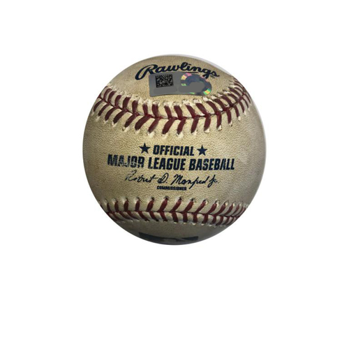 Photo of Game-used Baseball: 6/11/2016 Martinez vs. Joyce, Single