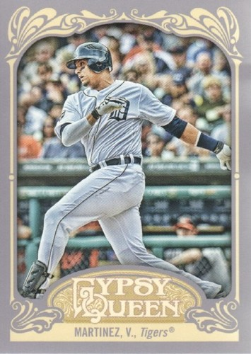 Photo of 2012 Topps Gypsy Queen #154 Victor Martinez