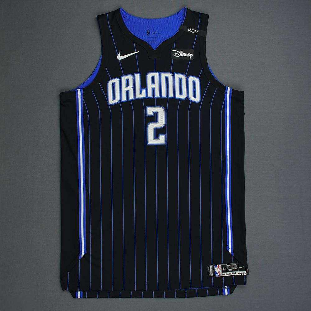 Jarell Martin - Orlando Magic - Game-Worn Statement Edition Jersey - Dressed, Did Not Play - 2019 Playoffs