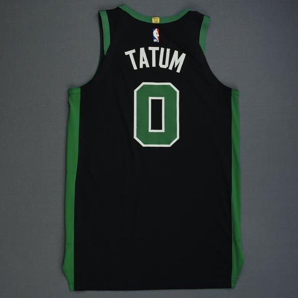 new arrival 8fe95 3f366 Jayson Tatum - Boston Celtics - 2019 NBA Playoffs - Game ...