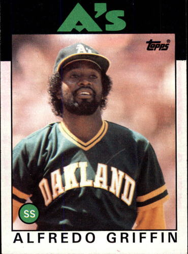 Photo of 1986 Topps #566 Alfredo Griffin